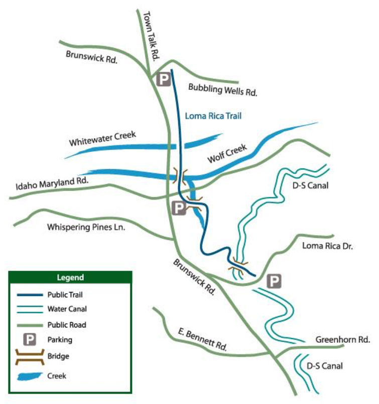 Loma_Rica_Trail_Map