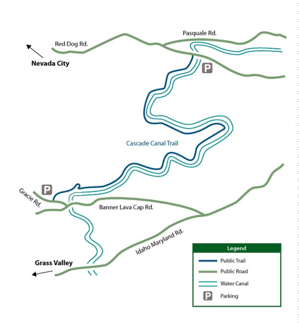 Cascade Canal Web Map