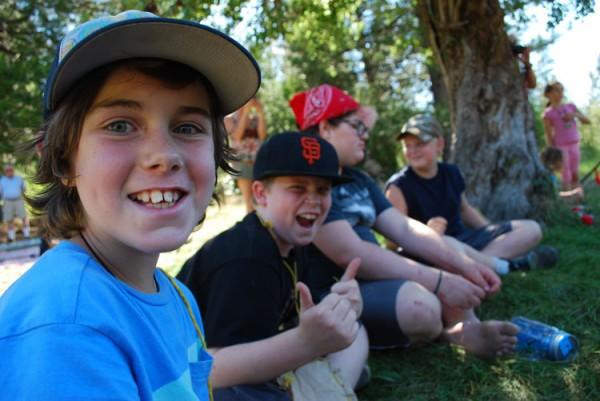burton homestead family picnic