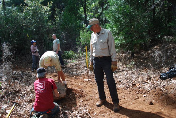 volunteer trails