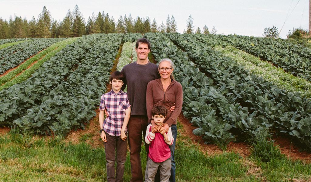 Mountain Bounty Farms - John Tecklin and family