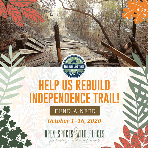 Independence Trail Rebuild Fund A Need