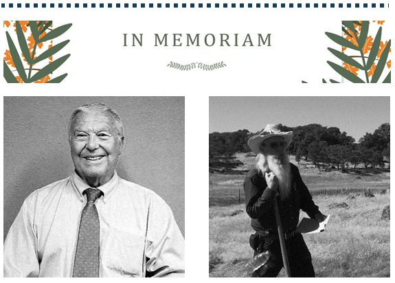 2020 In Memoriam Jack Meeks and Jim Phelan