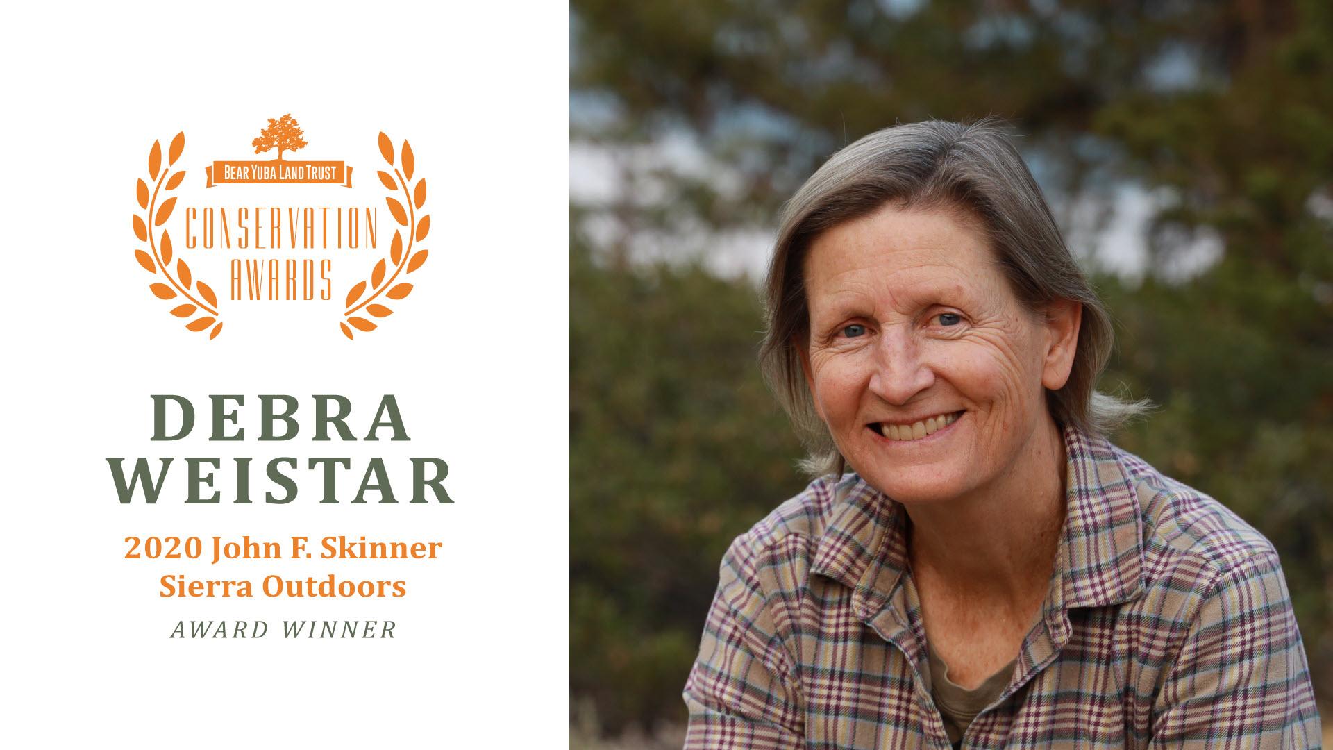 Debra Weistar Sierra Outdoors Recreation Hero